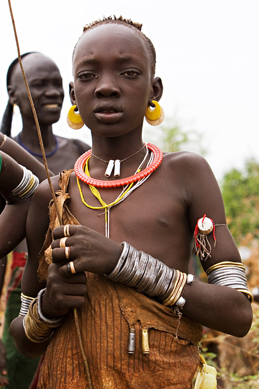 130 Young Girl From The Bodi Tribe-3260